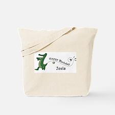 Happy Birthday Josie (gator) Tote Bag