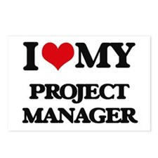 I love my Project Manager Postcards (Package of 8)