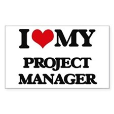 I love my Project Manager Decal