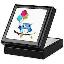 Owl Art Keepsake Box