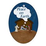 Peace On Earth (Christmas Ornament)