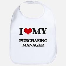 I love my Purchasing Manager Bib