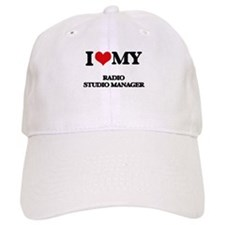 I love my Radio Studio Manager Baseball Cap
