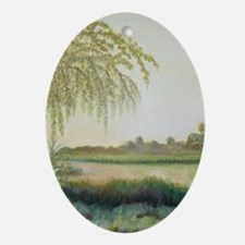 OLD FLORIDA VIEW Ornament (Oval)