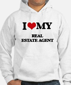 I love my Real Estate Agent Hoodie