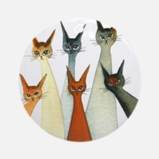 Seville Stray Cats Ornament (Round)