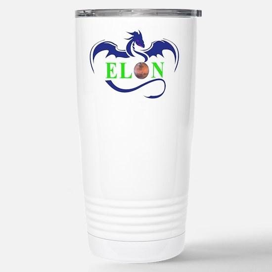 ELON MARS DRAGON Travel Mug