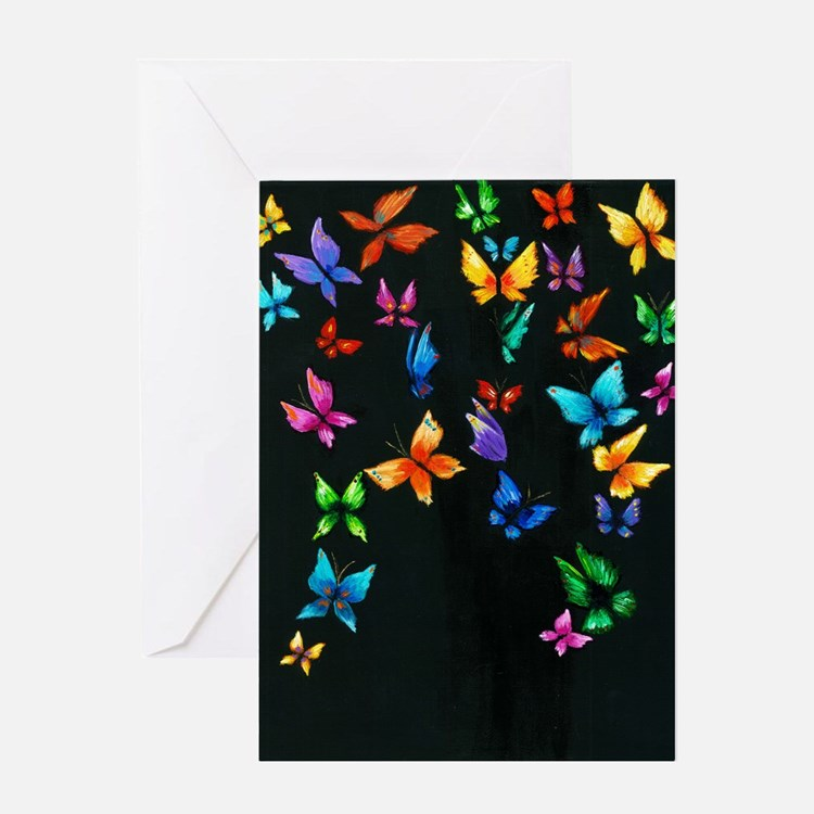 Butterfly Artwork Greeting Cards