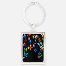 Butterfly Artwork Keychains