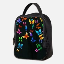 Butterfly Artwork Neoprene Lunch Bag