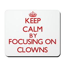 Clowns Mousepad