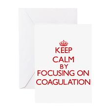 Coagulation Greeting Cards