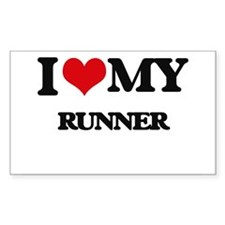 I love my Runner Decal