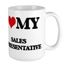 I love my Sales Representative Mugs