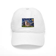 Starry / Blue Abbysinian cat Hat