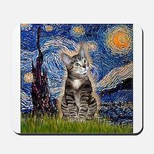 Starry / Tiger Cat Mousepad