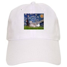 Starry / Lilac Pt. Siamese Baseball Cap