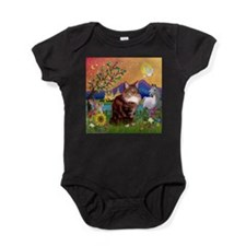 TILE-Fantasy-MCoon12.PNG Baby Bodysuit