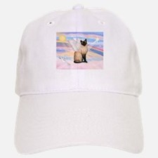 Siamese Cat Angel Baseball Baseball Cap