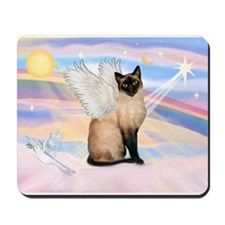Siamese Cat Angel Mousepad