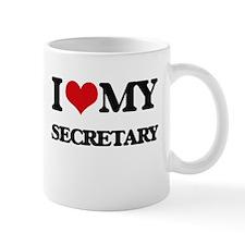 I love my Secretary Mugs