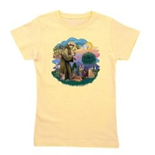 St Francis / 4 Cats Girl's Tee