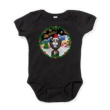W-TakeOff2-BWCCat Baby Bodysuit