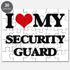 I love my Security Guard Puzzle