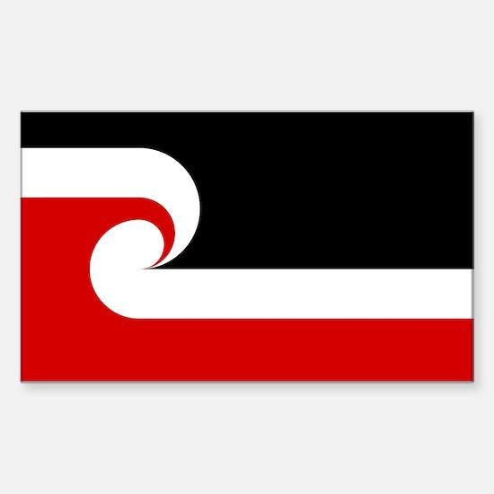 Maori Flag Sticker (Rectangle)
