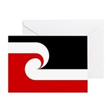 Maori Flag Greeting Card