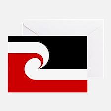 Maori Flag Greeting Card