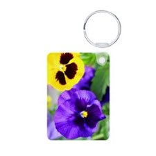 Pansy Keychains