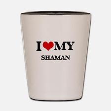 I love my Shaman Shot Glass