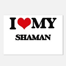 I love my Shaman Postcards (Package of 8)