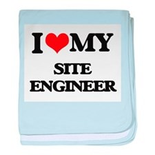 I love my Site Engineer baby blanket