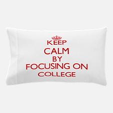 College Pillow Case