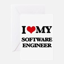 I love my Software Engineer Greeting Cards