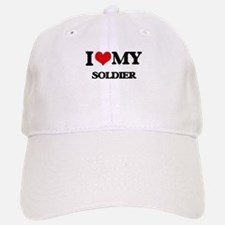 I love my Soldier Baseball Baseball Cap