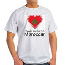 Happily Married Moroccan T-Shirt