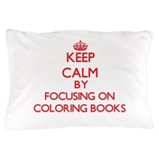 Coloring Books Pillow Case