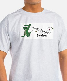 Happy Birthday Jaclyn (gator) T-Shirt