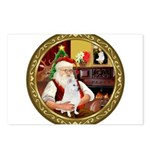 Santa's Am Eskimo #5 Postcards (Package of 8)