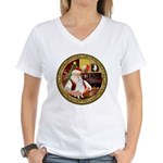 Santa's Am Eskimo #5 Women's V-Neck T-Shirt