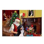 Santa's Home & Bernese Postcards (Package of 8)