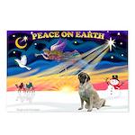 XmasSunrise/Mastiff #3 Postcards (Package of 8)