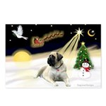 Night Flight/Mastiff 4 Postcards (Package of 8)