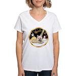 Night Flight/Cairn #4 Women's V-Neck T-Shirt