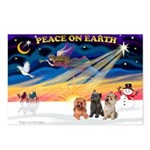 XmasSunrise/3 Cairns Postcards (Package of 8)