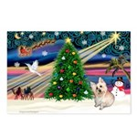XmasMagic/ Cairn T Postcards (Package of 8)