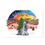 XMusic2-Cesky Terrier (slate) Postcards (Package o